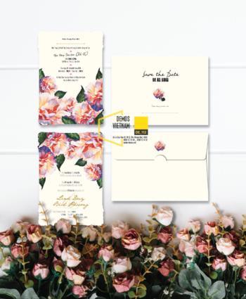 Thiệp cưới độc đáo mẫuDE112