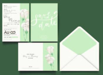 Thiệp cưới độc đáo mẫuDE140